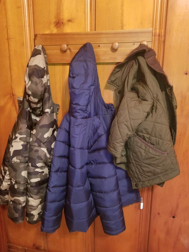 Wooden Coat Rack