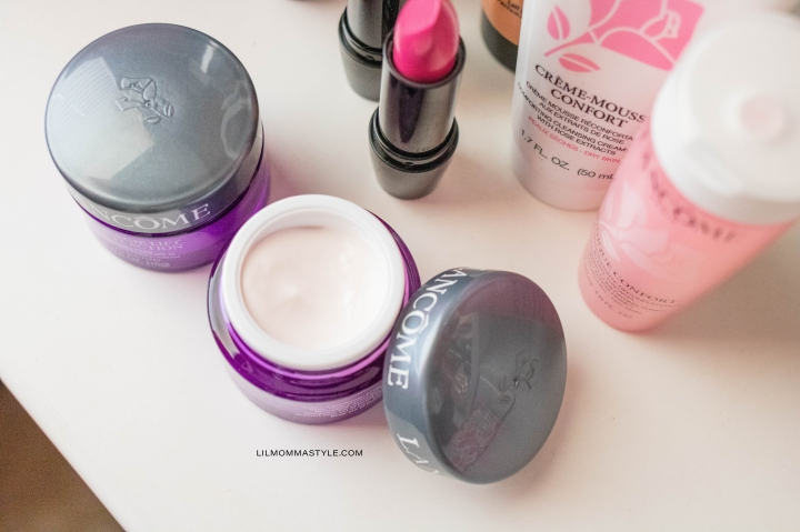 #GIFTED LANCOME BEAUTY ESSENTIALS & POUCHES